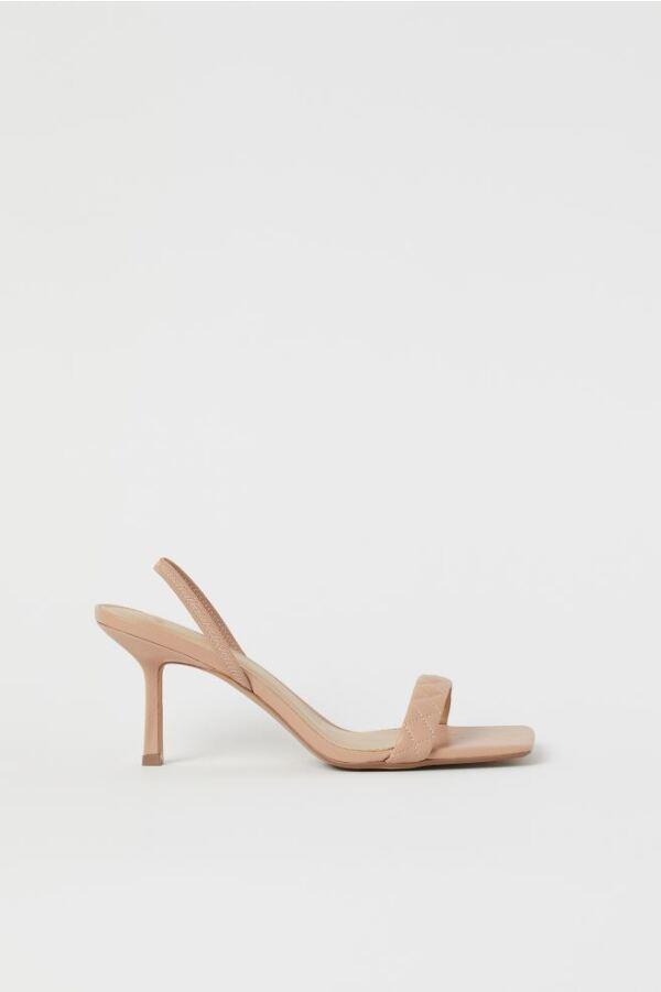 Sandalias Nude H&M