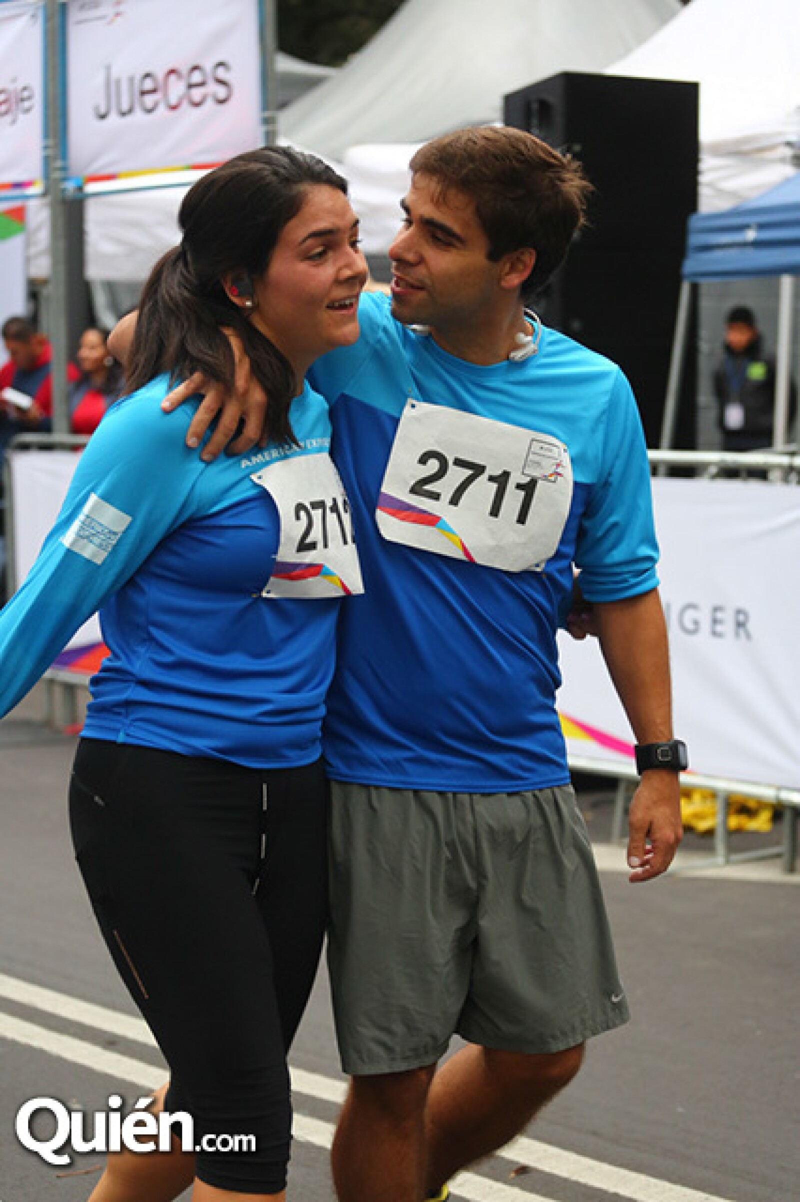 Inés Carral y Manuel Pereira