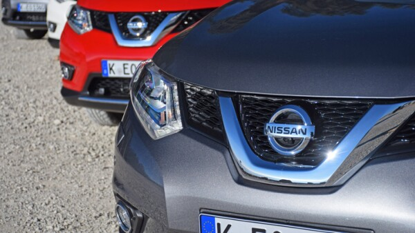 Nissan X-Trail vehicles