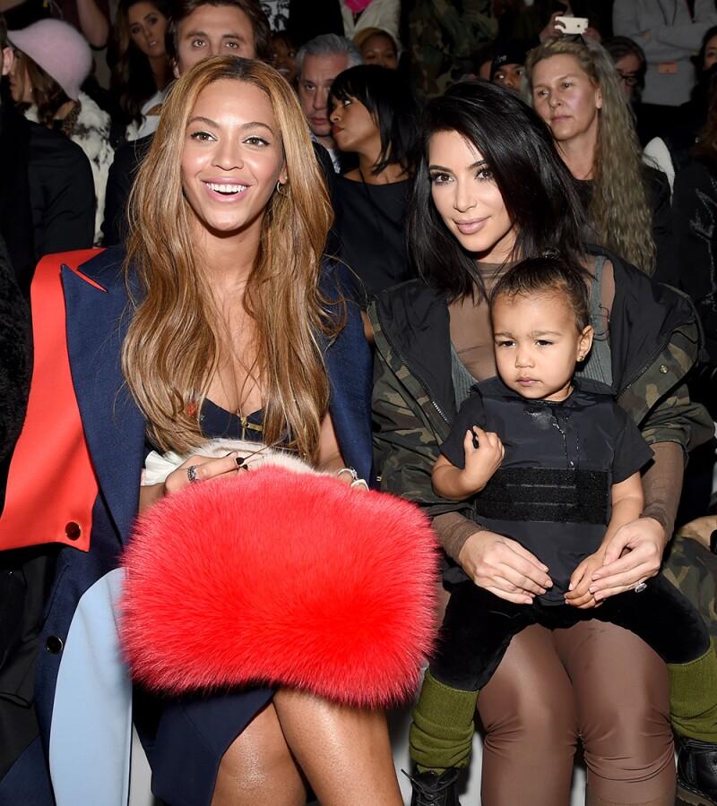 Kim y Beyoncé