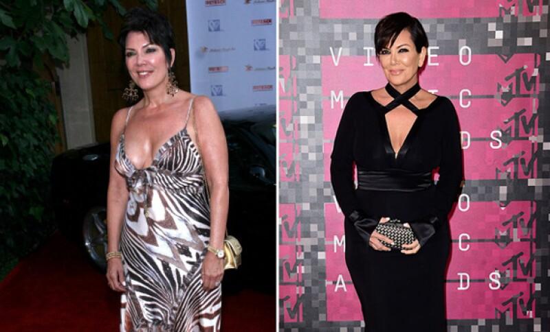 La madre de las Kardashians no ha tenido muchas transformaciones pero luce muy bien.