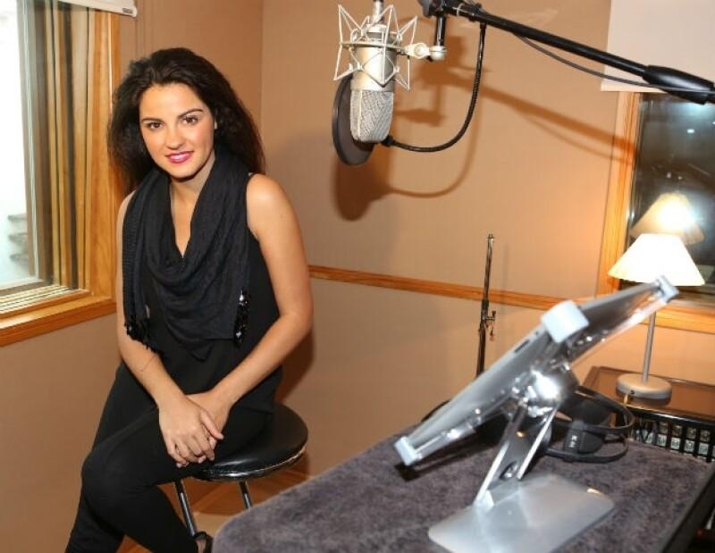 Maite se encuentra en el proceso de ensayos para su nuevo show musical.