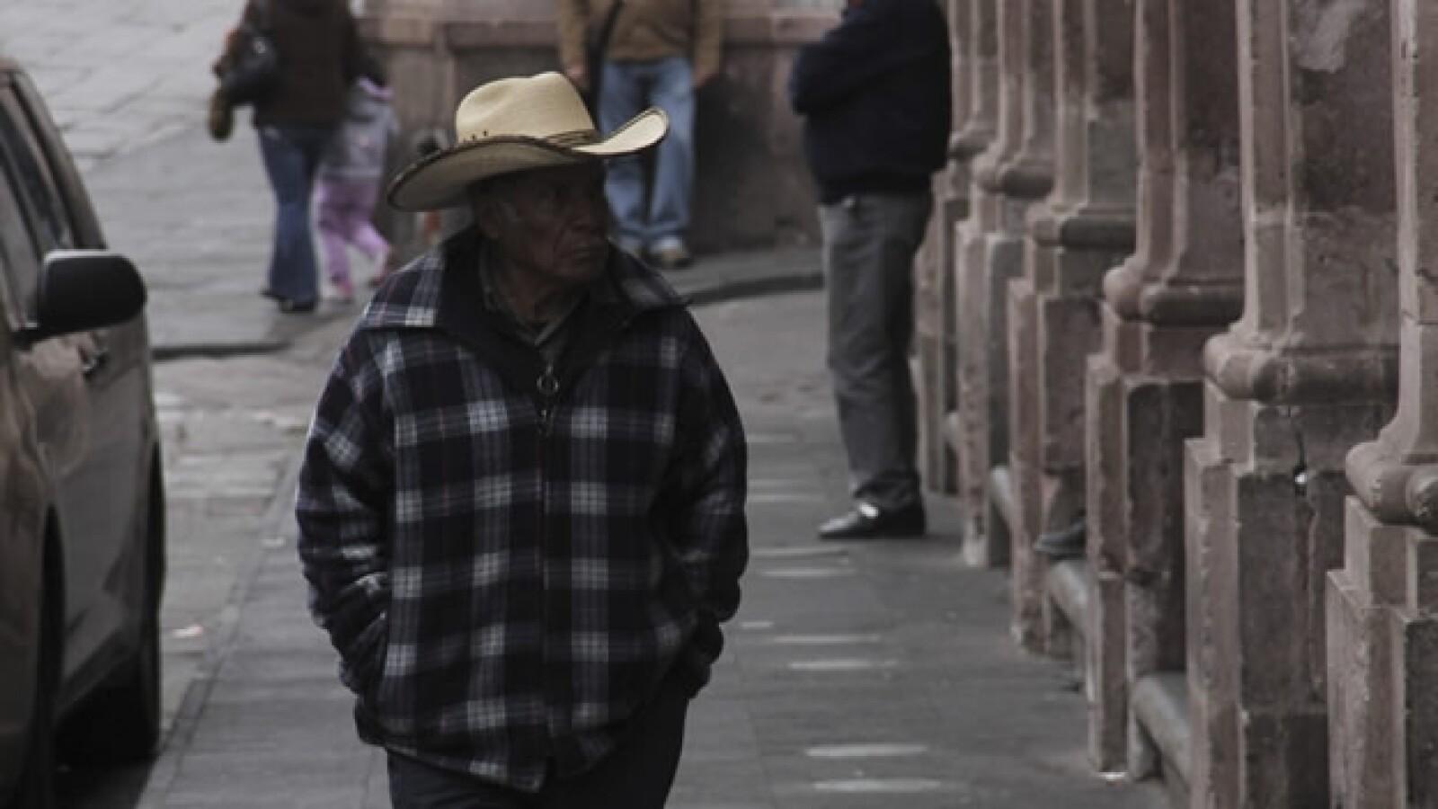 Zacatecas frío clima México