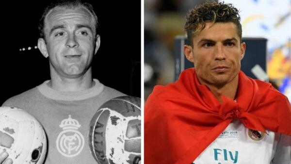 Di Stéfano y Ronaldo