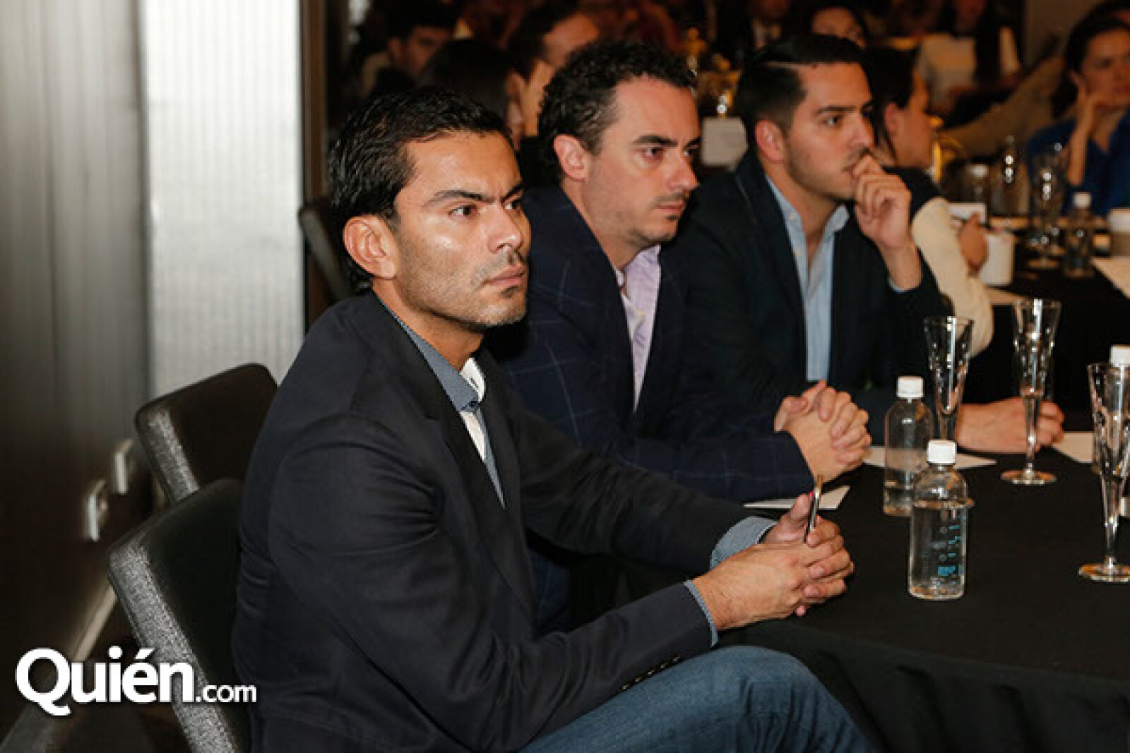 Jorge Ríos,Rodrigo Gómez Tagle y Eduardo Gómez