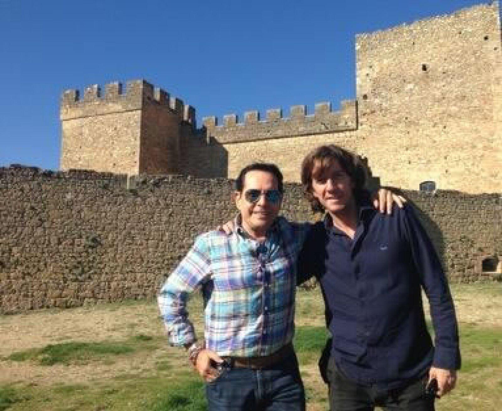 Pepillo Origel viajó a España donde convivió con Colate.