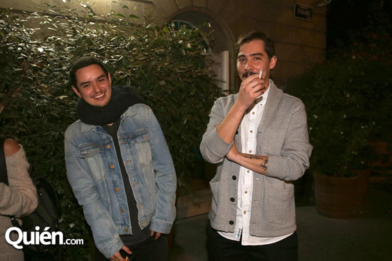 Carlos Maldonado y Juan Pablo Viedma