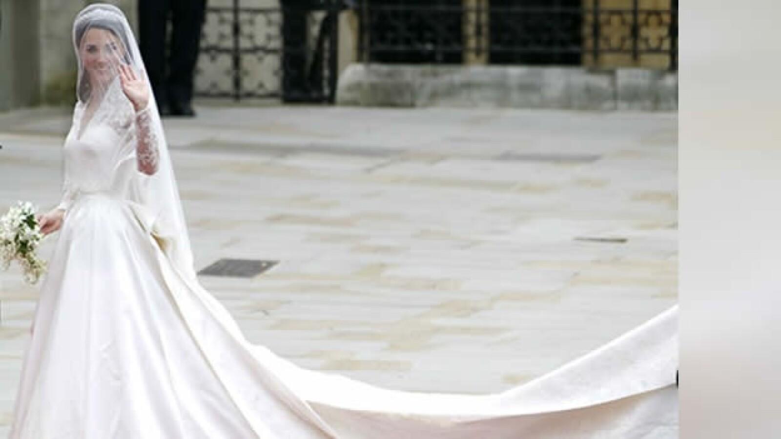 vestido catalina boda real