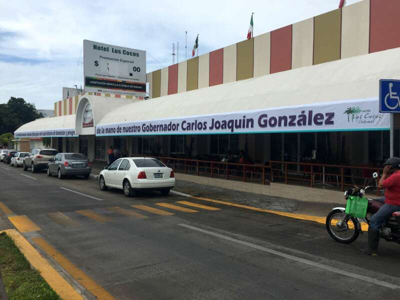 Preparativos en Chetumal