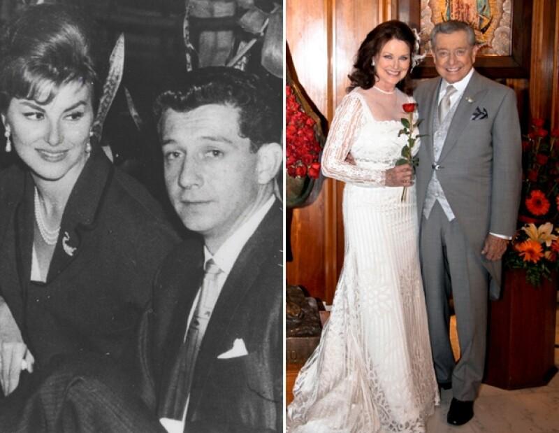 León y Raquel Bessudo y Miguel Alemán Velasco y Christiane Magnani han pasado más de 50 años amándose, por lo que son parejas ejemplares.
