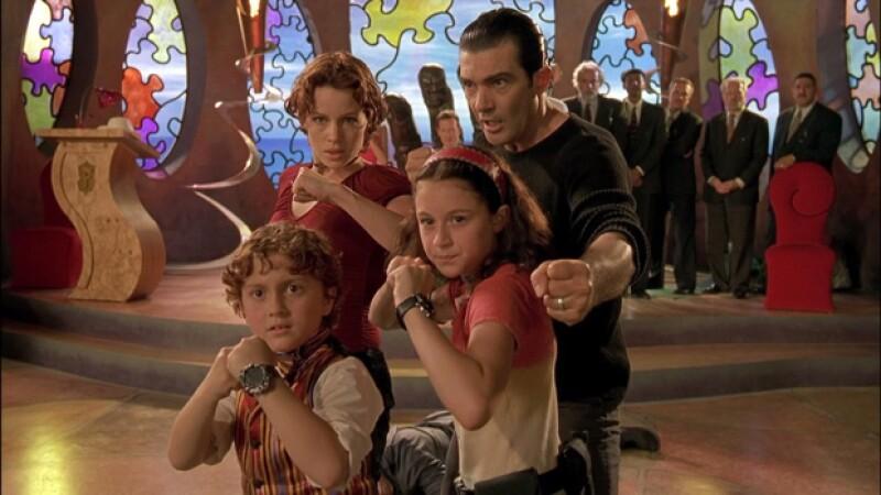 Carla Gugino, Antonio Banderas, Alexa Vega y Daryl Sabara, fueron la familia creada en un mundo de fantasía por Robet Rodríguez.