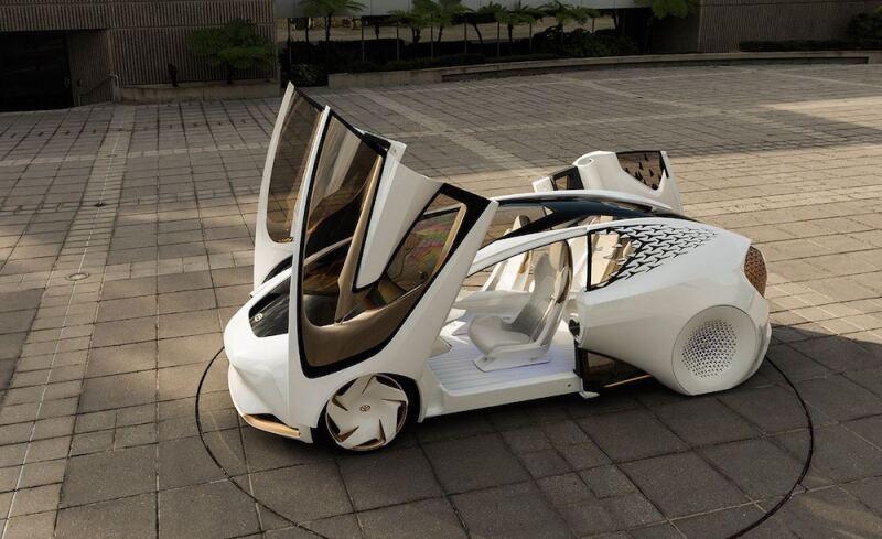Concept EQA, de Mercedes-Benz