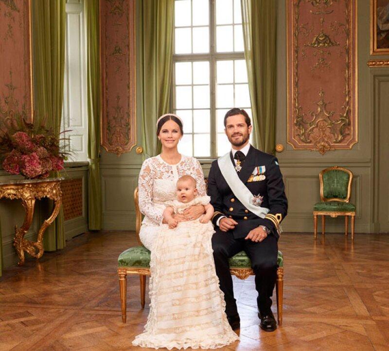 Miembros de la monarquía y políticos europeos se reunieron este fin de semana para celebrar al quinto miembro de la familia real sueca.