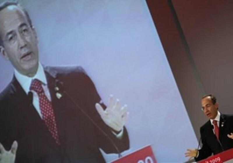 El presidente de México critica, junto con otros presidentes, las políticas de EU (Foto: AP)