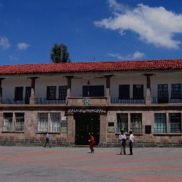 El palacio central