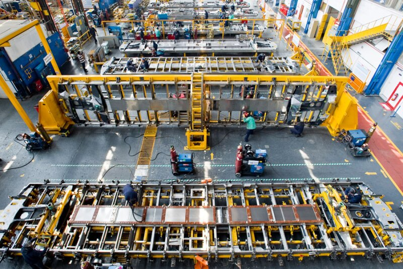 Es la primera y �nica empresa de material rodante establecida en M�xico, por lo que la mayor�a del material rodante de la carga de M�xico y los sistemas de transporte se construyeron ah�.