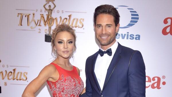 Angelique Boyer y Sebastián Rulli