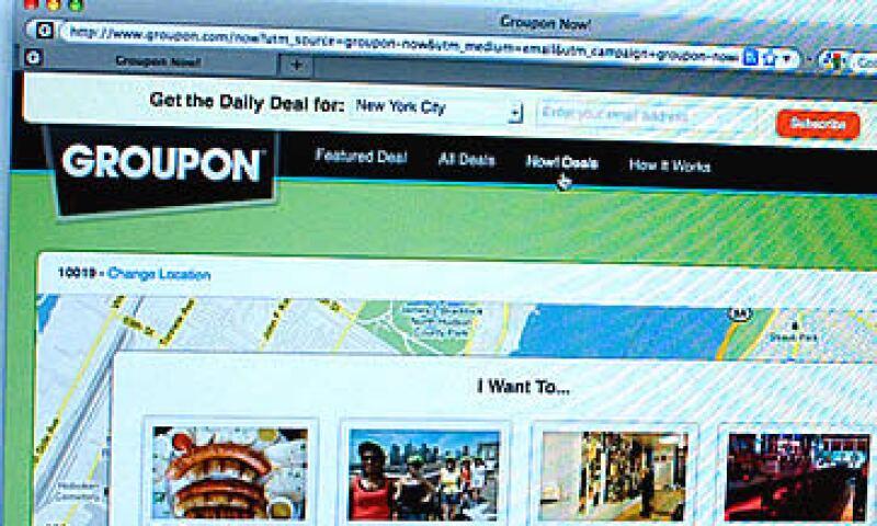 Groupon registró una pérdida neta de 224 mdd en la primera mitad de 2011. (Foto: Cortesía CNNMoney)