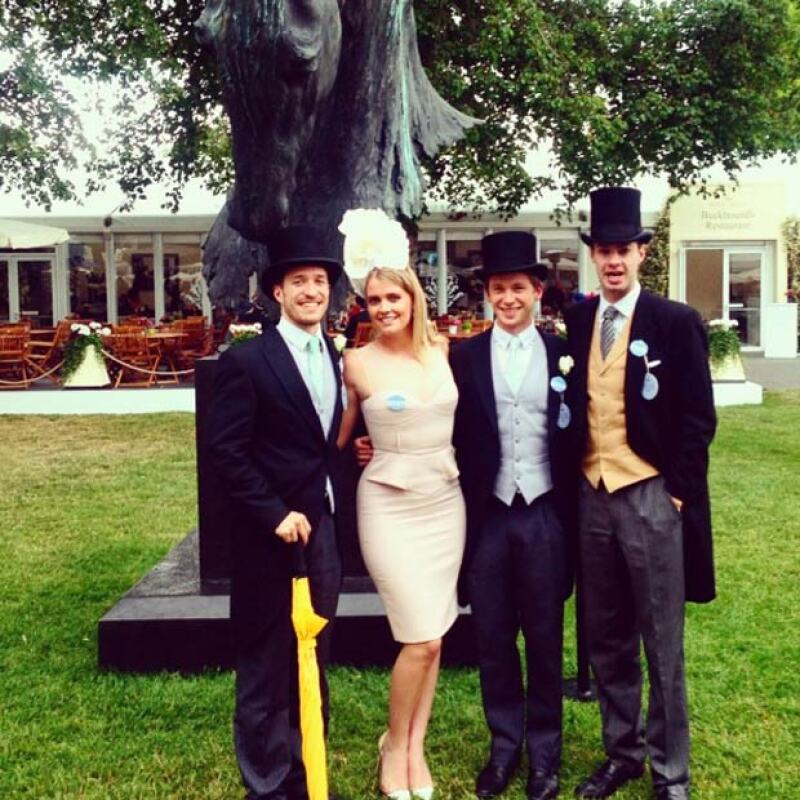 La joven de 24 años asiste a los eventos más exclusivos de la socialité inglesa, tal como el Royal Ascot.