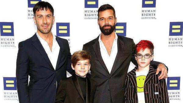 Jwan Yosef, Valentino, Matteo, Ricky Martin
