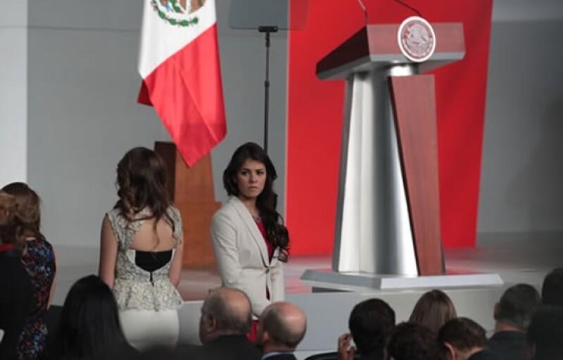 Así fue el look de Sofía y Paulina. (Foto: César Toledo
