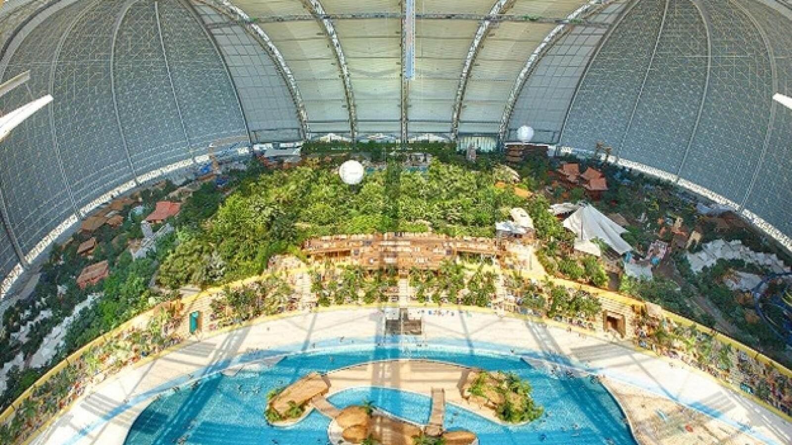 parque acuatico Tropical Islands