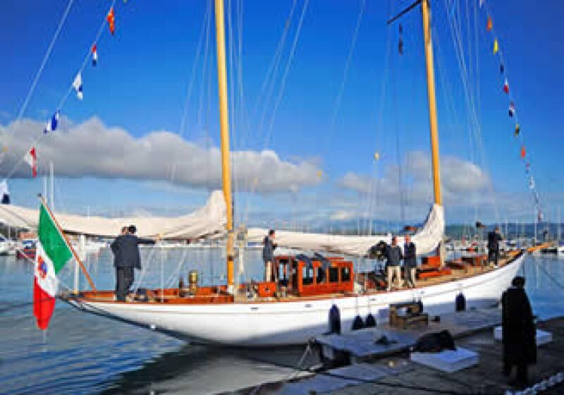 El velero Eilean ganó el premio Italia per la Vela 2010 (Foto: Cortesía Officine Panerai  )