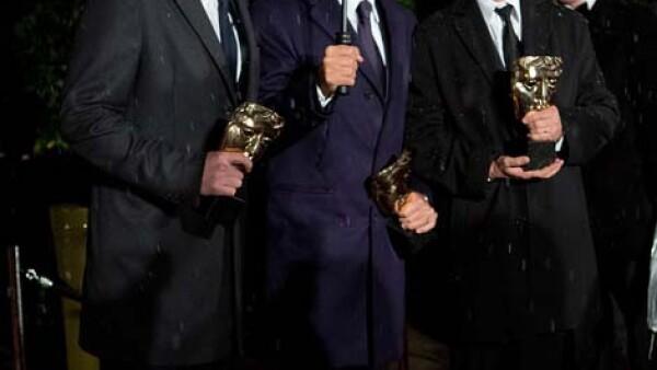 Estos tres galanes, Ben Affleck, George Clooney y Grant Heslov, no podían a la celebración posterior a la ceremonia de entrega.
