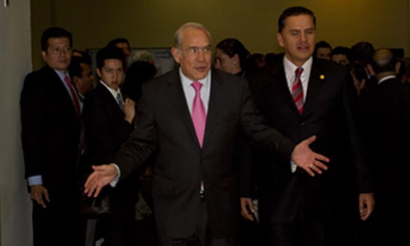 José Ángel Gurría dijo que la OCDE es optimista con la estrategia nipona anunciada. (Foto: Cuartoscuro)