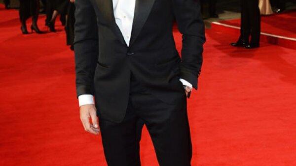 Daniel Craig, protagonista de la cinta, fue de los primeros en arribar a la red carpet.