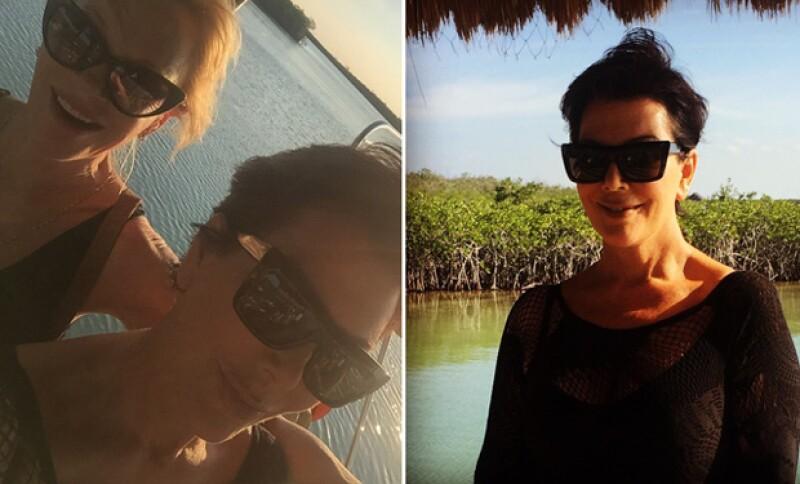 La socialité decidió pasar tiempo fuera de casa tras la partida de su hija menor, Kylie Jenner, y lo hizo de la manera más girly posible: yendo con sus amigas a la playa.