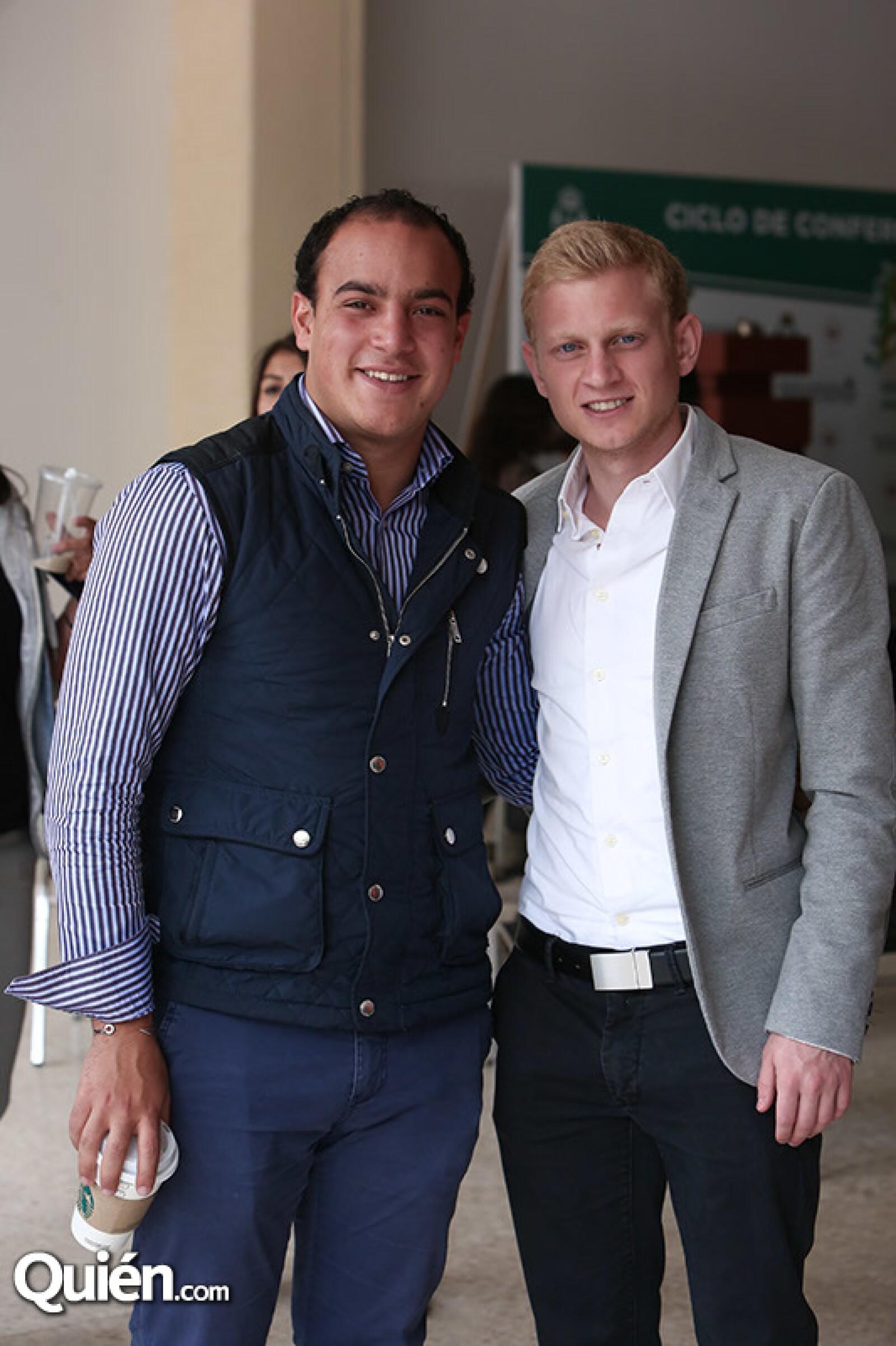 Marc Telyo y Marcos Hussmi