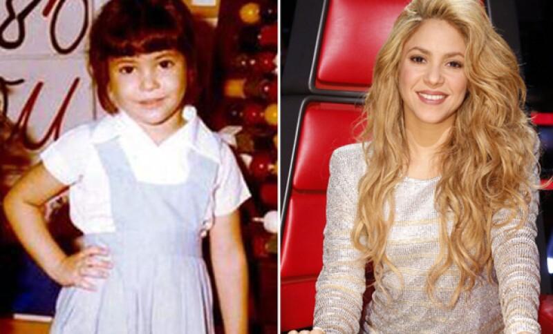Con el discurso del empoderamiento de las futuras generaciones, Shakira publicó un throwback en el que no se parece nada a lo que es en la actualidad.