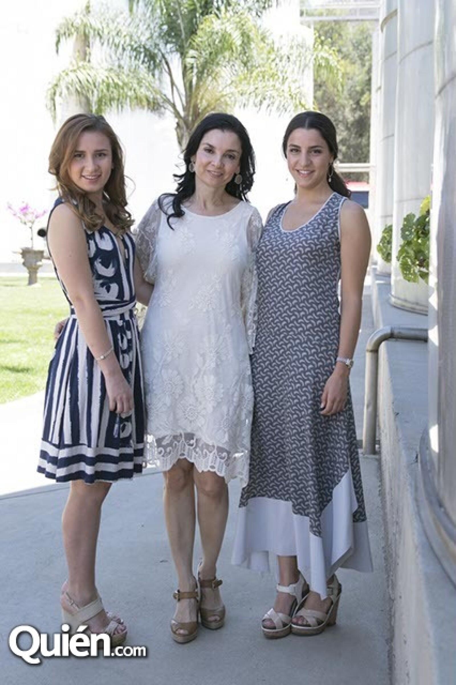 Denisse Cetto,Monica Cetto y Alejandra Gutiérrez