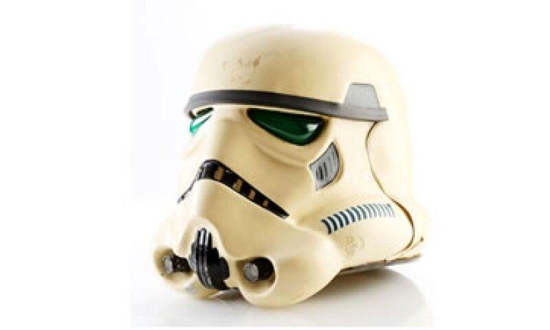 Este casco de Stormtrooper será subastado el 23 de septiembre. (Foto: Prop Store)