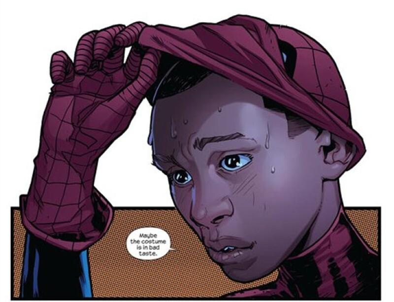 Mike Morales es el nuevo Spiderman.