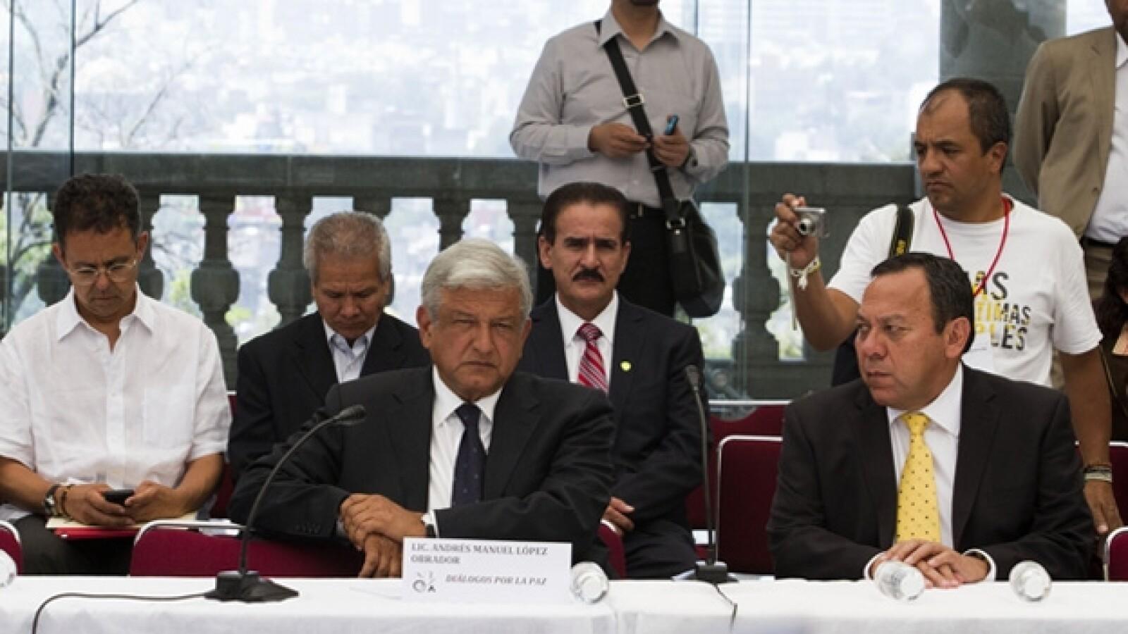 López Obrador/Movimiento por la Paz