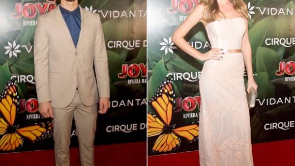Joe Jonas, Ximena Navarrete y más acudieron a la primera función de `Joyà´ primer espectáculo permanente de la compañía de circo en México.