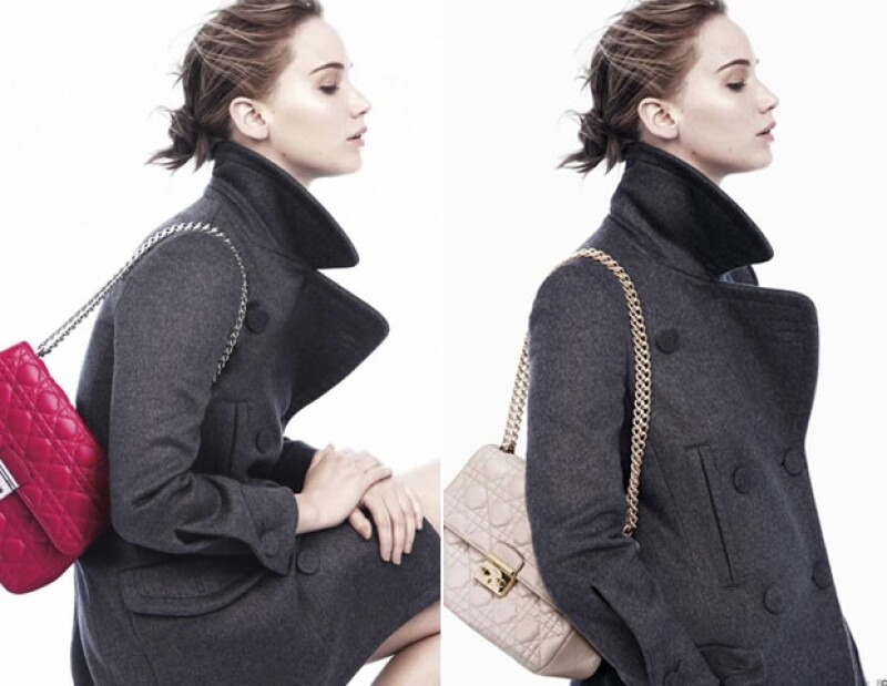 Jennifer Lawrence para Dior Otoño-Invierno 2013.