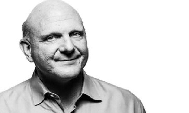 Steve Ballmer llevó a Microsoft a reportar ganancias al cierre de 2012 de 16,900 millones de dólares. (Foto: Cortesía Microsoft)