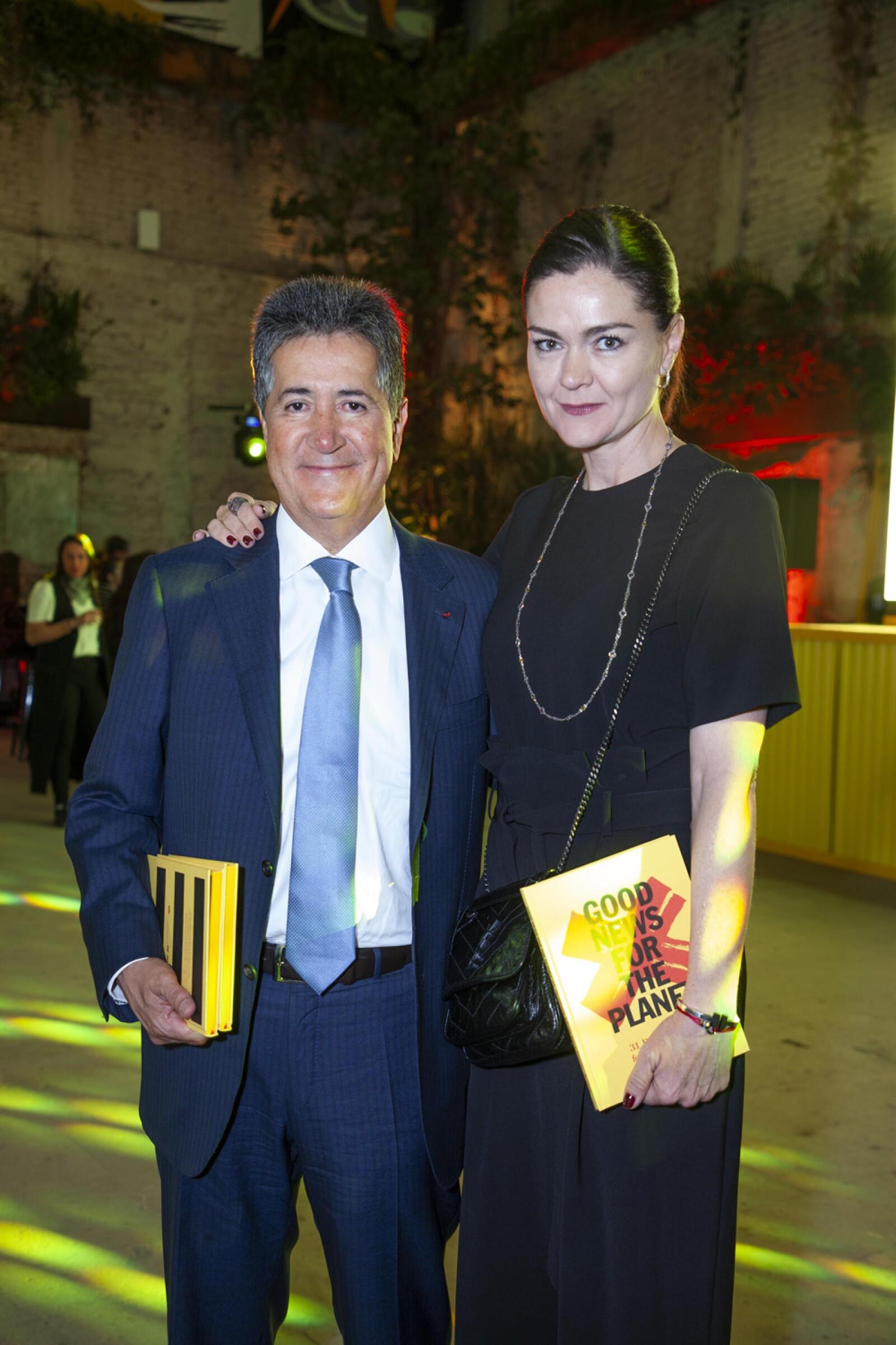 Víctor y Beatriz Olea