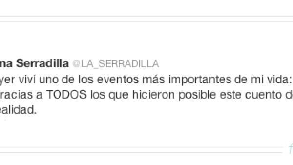 La actriz mexicana tomó por sorpresa a todos cuando comentó en Twitter que contrajo matrimonio el 12 de diciembre.