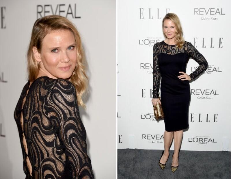 La actriz recordada por su emblemático papel de Bridget Jones reapareció anoche en un evento de Elle en Hollywood, dejando a los asistentes incrédulos por su apariencia.