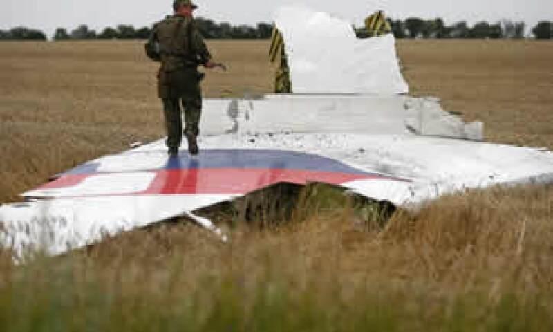 La caída del avión en un territorio de Ucrania controlado por separatistas prorrusos dejó 298 muertos. (Foto: Reuters)