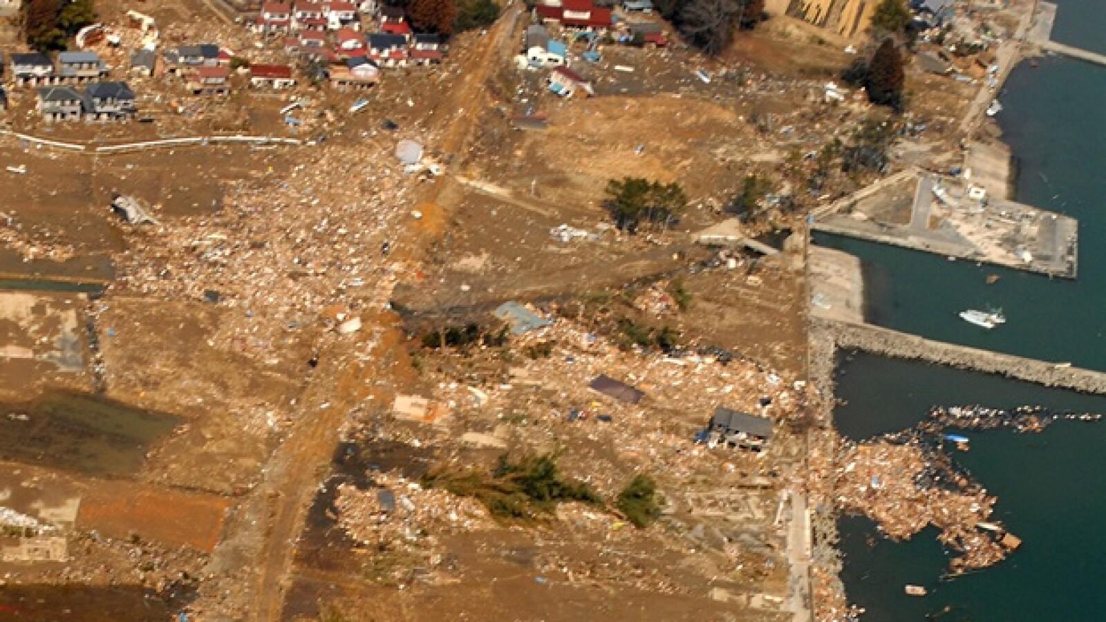 Japón - devastación en Sendai