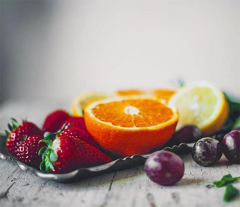 Su dieta esta basada en frutas