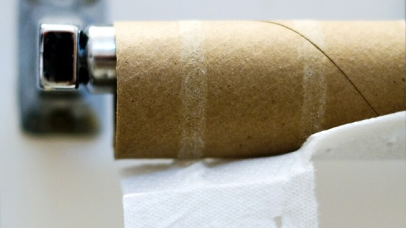 papel higiénico rollo baño