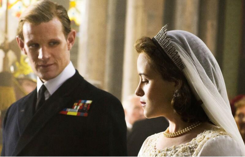 Réplica del vestido de novia de la reina Isabel II