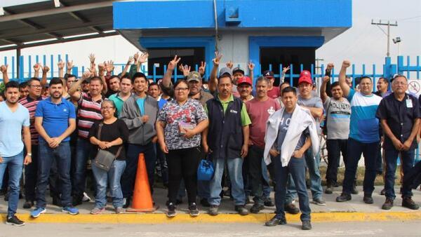Huelga paro Matamoros Tamaulipas empresas STPS