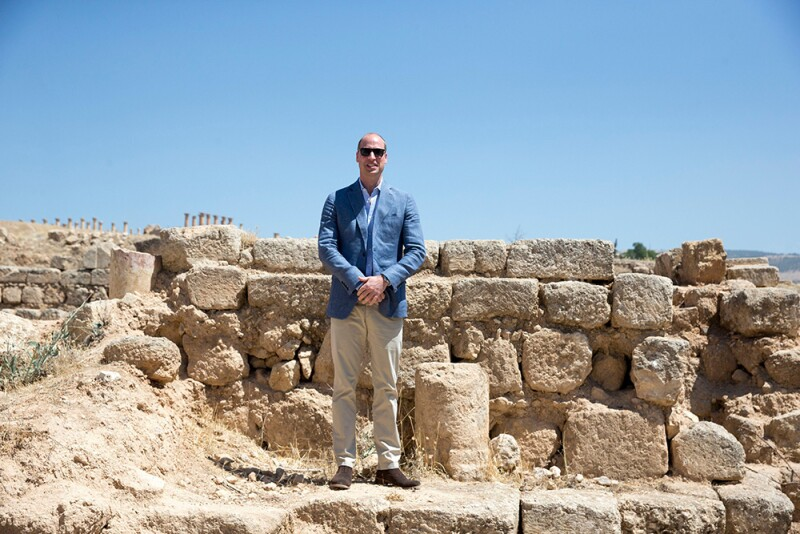 Príncipe William en Jordania